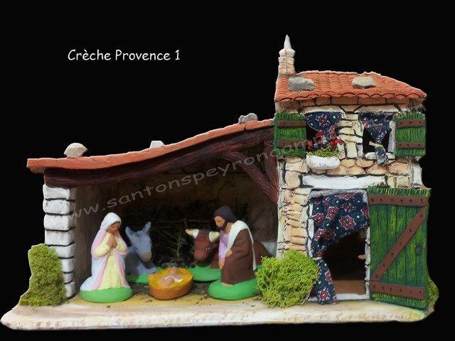 Cr che provence santons de provence peyron campagna for Creche salon de provence