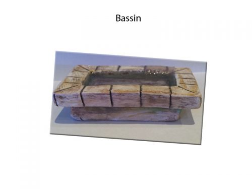 Bassin rectangulaire
