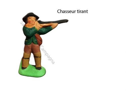 Chasseur tirant